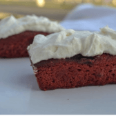 keto fridge red velvet cake
