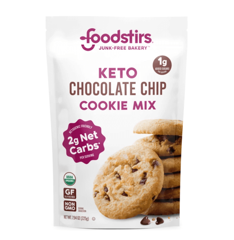 keto chocolate chip cookie mix
